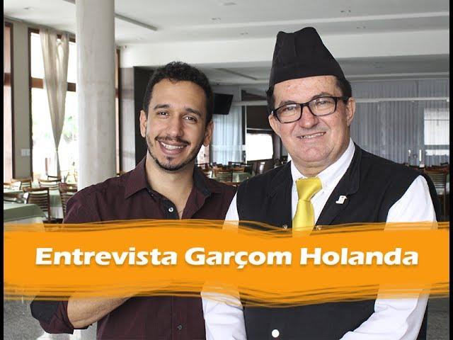 Entrevista com Garçom Holanda