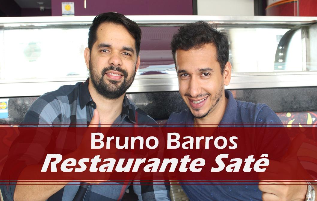 Entrevista com Bruno Barros do Restaurante Satê Sushi Lounge