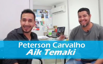 Entrevista com Peterson Carvalho do Aik Temaki