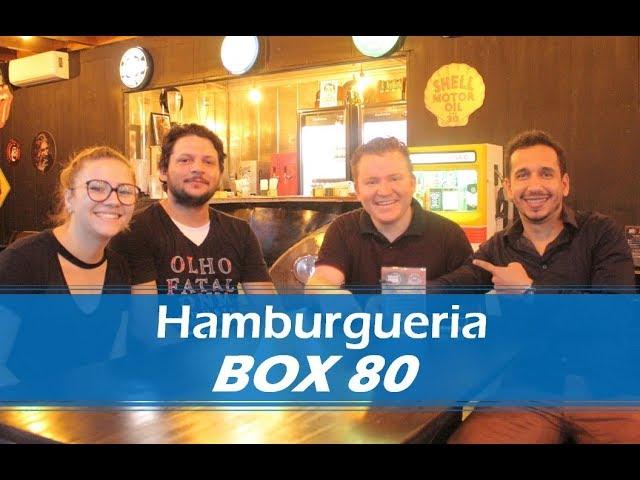 Entrevista com os Proprietários da Hamburgueria Box 80
